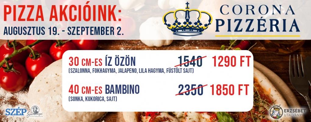 Pizza akcióink!