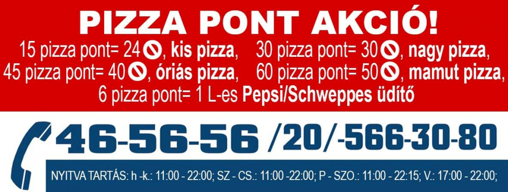 Pizza pontok